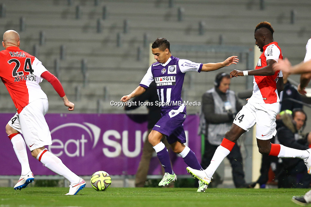 Wissam Ben Yedder - 05.12.2014 - Toulouse / Monaco - 17eme journee de Ligue 1 -<br />Photo : Manuel Blondeau / Icon Sport