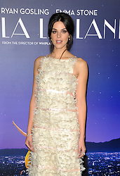 Callie Hernandez at the Los Angeles premiere of 'La La Land' held at the Mann Village Theatre in Westwood, USA on December 6, 2016.