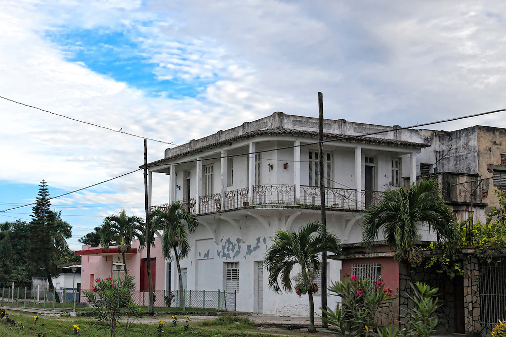 Building in Guayos, Sancti Spiritus, Cuba.