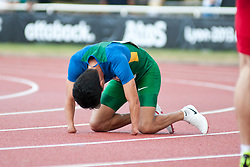 NASCIMENTO Yohansson, BRA, 200m, T46, 2013 IPC Athletics World Championships, Lyon, France