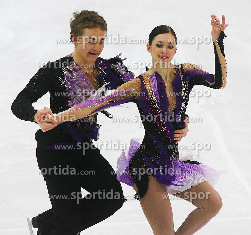 24.01.2011, Postfinance Arena, Bern, Eiskunstlauf EM 2011, im Bild Paar  Eistanz Qualifikation Irina Shtork / Taavi Rand (EST) // during the European Figure Skating Championships 2011, in Bern, Switzerland, EXPA Pictures © 2011, PhotoCredit: EXPA/ EXPA/ Newspix/ Manuel Geisser +++++ ATTENTION - FOR AUSTRIA/ AUT, SLOVENIA/ SLO, SERBIA/ SRB an CROATIA/ CRO, SWISS/ SUI and SWEDEN/ SWE CLIENT ONLY +++++