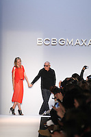 Max Azria walks the runway wearing BCBG MAXAZRIA Fall 2012 during Mercedes-Benz Fashion Week in New York City,  on February 9th, 2012