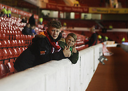 Nottingham Forest fans before the match - Mandatory byline: Jack Phillips / JMP - 07966386802 - 6/11/2015 - FOOTBALL - The City Ground - Nottingham, Nottinghamshire - Nottingham Forest v Derby County - Sky Bet Championship