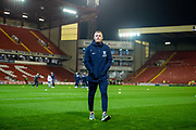 Preston North End FC Captain Tom Clarke (5) arriving at Oakwell Stadium before the EFL Sky Bet Championship match between Barnsley and Preston North End at Oakwell, Barnsley, England on 21 January 2020.