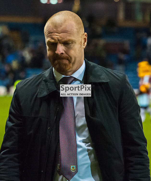 Burnley manager Sean Dyche after his sides 4-1 win in the Championship match between Burnley and Derby County<br /> (c) John Baguley | SportPix.org.uk