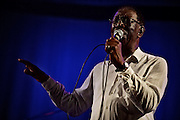 Frankfurt am Main | 25 August 2016<br /> <br /> Blues im Palmengarten 2016<br /> Tommie Harris &amp; Friends feat. Frank Bey,<br /> hier: Tommie Harris.<br /> <br /> Fotocredit: peter-juelich.com<br /> <br /> [F&uuml;r FR: TAGESSATZ | Nutzung nur FR Print, Online, iPad. Keine Weitergabe, Syndication, Lizensierung, Rechteweitergabe, Rechte&uuml;bertragung etc.]