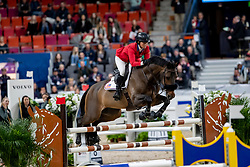 MADDEN Elizabeth (USA), Breitling LS <br /> Göteborg - Gothenburg Horse Show 2019 <br /> Int. jumping competition presented by Volvo<br /> Against the clock (1.40 m)<br /> Longines FEI Jumping World Cup™ Final and FEI Dressage World Cup™ Final<br /> 03. April 2019<br /> © www.sportfotos-lafrentz.de/Stefan Lafrentz