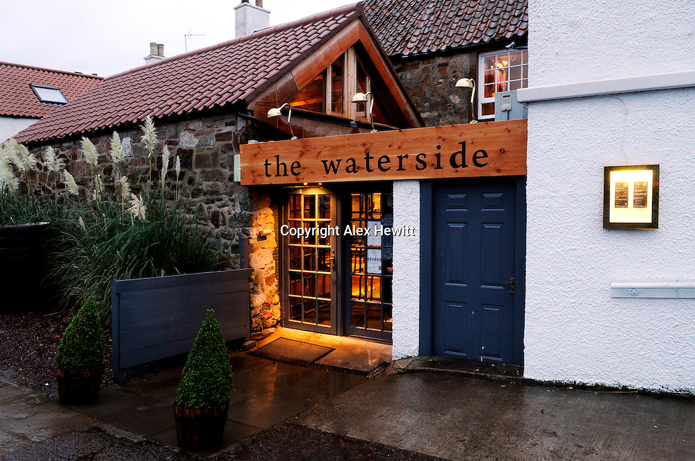 The Waterside Bistro bar and restaurant situated on the banks of the River Tyne in Haddington, East Lothian, Scotland...No commercial or editorial use without consulting the photographer..Copyright Alex Hewitt.© All Rights Reserved.alex.hewitt @ gmail.com