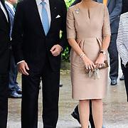 Koning en koningin bezoeken Noordrijn-Westfalen.<br /> Nederlands &ndash; Duitse bedrijvenbijeenkomst  bij SchlossMoyland<br /> <br /> King and Queen visit North Rhine-Westphalia.<br /> Dutch - German companies meeting SchlossMoyland<br /> <br /> Op de foto / On the photo:  <br /> <br />  Koning Willem Alexander en Koningin Maxima <br /> <br /> King Willem Alexander and Queen Maxima