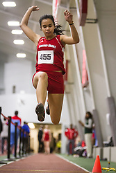 Boston University Multi-team indoor track & field, womens long jump, Sacred Heart 455
