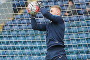 Blackburn Rovers goalkeeper Jason Steele  during the The FA Cup match between Blackburn Rovers and West Ham United at Ewood Park, Blackburn, England on 21 February 2016. Photo by Simon Davies.