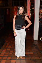 ROXIE NAFOUSI at the YSL Beauty: YSL Loves Your Lips party held at The Boiler House,The Old Truman Brewery, Brick Lane,London on 20th January 2015.