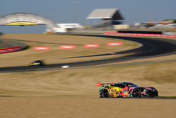 June 18, 2017 - Le Mans, Sarthe, France - Larbre Competition Chevrolet Corvette C7-Z06 rider .FERNANDO REES (CAN) in action during the race of the 24 hours of Le Mans on the Le Mans Circuit - France (Credit Image: © Pierre Stevenin via ZUMA Wire)