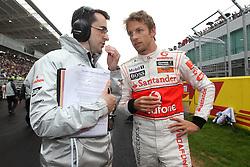 Motorsports / Formula 1: World Championship 2010, GP of Korea, 01 Jenson Button (GBR, Vodafone McLaren Mercedes),