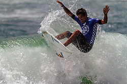"HUNTINGTON BEACH, CA - In an all-Brazilian final, Filipe Toledo (BRA)and Willian Cardoso (BRA) wrote history for their country in the sands of Huntington Beach, USA. They final scores were: Filipe Toledo (BRA), 17.56 def. Willian Cardoso (BRA), 12.80. ""I'm super stoked and excited, still shaking. I started really good. I just turned my game to the air game so I could do what I love to do and it worked. I had to surf though a lot of pain with my ankle, and just put it out of my mind,"" expressed Filipe Toledo. 2014 Aug 3.  Byline, credit, TV usage, web usage or linkback must read SILVEXPHOTO.COM. Failure to byline correctly will incur double the agreed fee. Tel: +1 714 504 6870."