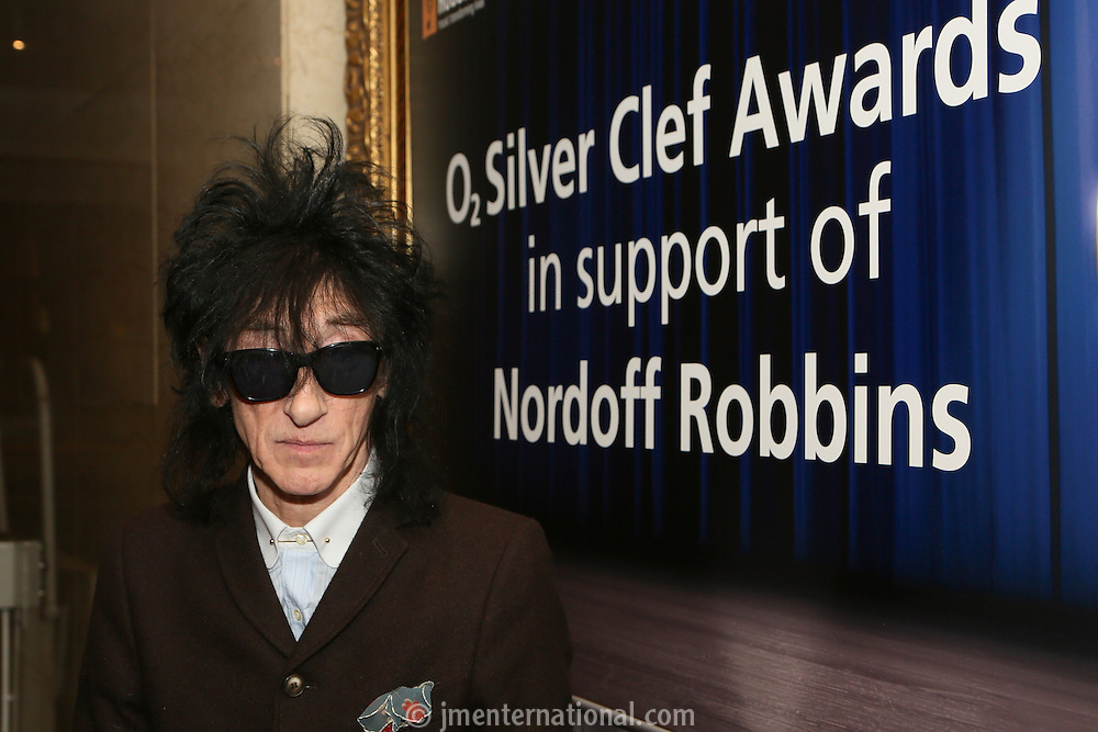 John Cooper Clark. The Silver Clef Lunch 2013 in aid of  Nordoff Robbins held at the London Hilton, Park Lane, London.<br /> Friday, June 28, 2013 (Photo/John Marshall JME)