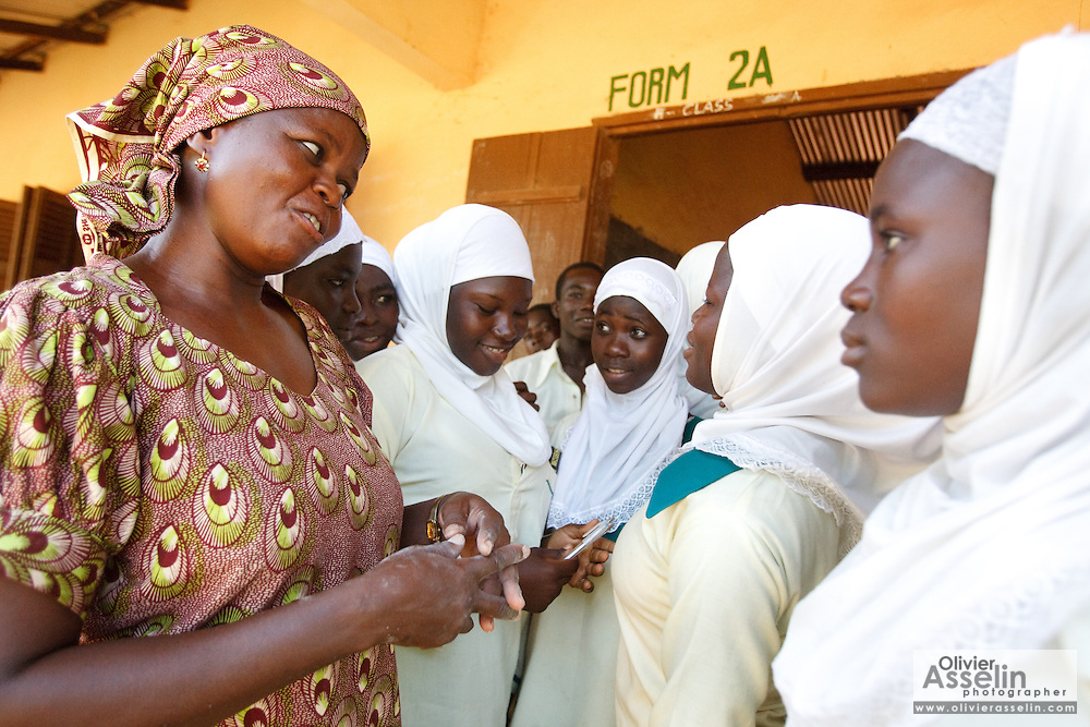 Nahdah Islamic Junior Secondary school, Tamale, Northern Region, Ghana on Thursday November 3, 2011.
