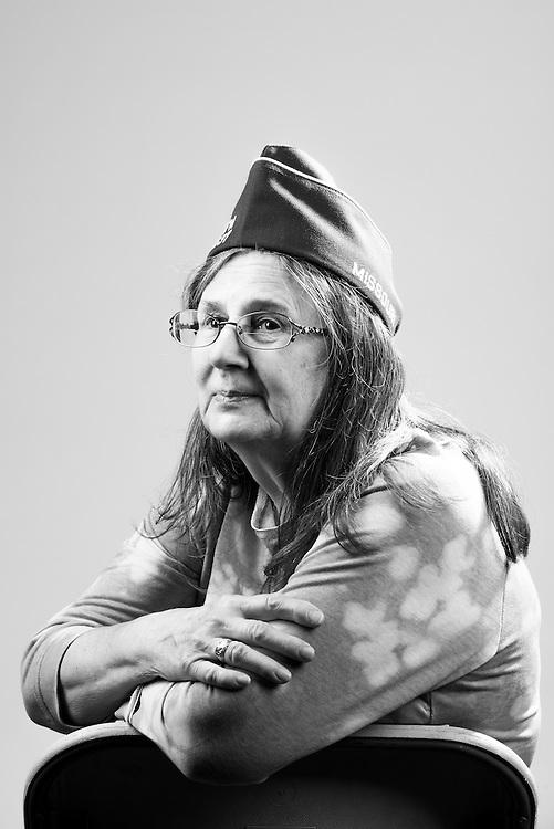 Mary J. Hemphill<br /> Army<br /> E-5<br /> Transportation<br /> Feb. 1980 - Sept. 2001<br /> Desert Storm<br /> <br /> Veterans Portrait Project<br /> St. Louis, MO