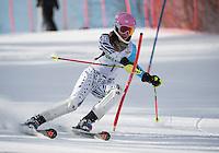Lafoley Slalom with Gunstock Ski Club. <br /> ©2017 Karen Bobotas Photographer