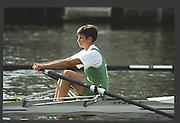 Henley, England,  GBR LW1X, Claire PARKER. 1990 Women's Henley Regatta, Henley Reach, River Thames Oxfordshire <br /> <br /> <br /> [Mandatory Credit; Peter Spurrier/Intersport-images] 1990 Henley Women's Regatta, Henley,
