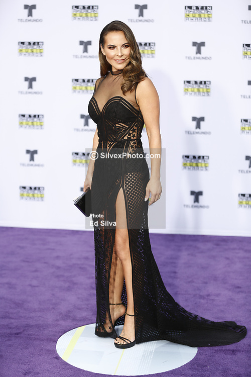 HOLLYWOOD, CA - OCTOBER 26: Kate del Castillo attends Telemundo's Latin American Music Awards 2017 held at Dolby Theatre on October 26, 2017. Byline, credit, TV usage, web usage or linkback must read SILVEXPHOTO.COM. Failure to byline correctly will incur double the agreed fee. Tel: +1 714 504 6870.
