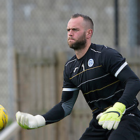 St Johnstone FC Training...11.09.15<br /> Keeper Alan Mannus pictured in training this morning ahead of tomorrow's game against Hamilton Accies<br /> Picture by Graeme Hart.<br /> Copyright Perthshire Picture Agency<br /> Tel: 01738 623350  Mobile: 07990 594431