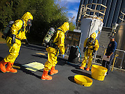 County wide Haz-Mat Drill with Albemarle County Fire Rescue, Charlottesville Fire Department, Crozet Volunteer Fire Department and Western Albemarle Rescue Squad held at the Greenwood Chemical Company, Crozet, VA. Photo by Justin Ide, © 2016 All Rights Reserved.