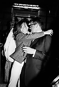 Sam Taylor Wood and Jay Jopling. Sensation opening. royal Academy. 16 September 1977. © Copyright Photograph by Dafydd Jones 66 Stockwell Park Rd. London SW9 0DA Tel 020 7733 0108 www.dafjones.com
