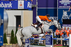 VAN DER VLEUTEN Maikel (NED), DANA BLUE<br /> Rotterdam - Europameisterschaft Dressur, Springen und Para-Dressur 2019<br /> Longines FEI Jumping European Championship part 2 - team 2nd and final round<br /> Finale Teamwertung 2. Runde<br /> 24. August 2019<br /> © www.sportfotos-lafrentz.de/Stefan Lafrentz