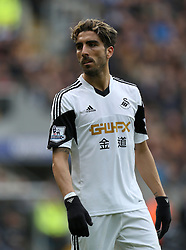 Swansea's Chico Flores - Photo mandatory by-line: Matt Bunn/JMP - Tel: Mobile: 07966 386802 05/04/2014 - SPORT - FOOTBALL - KC Stadium - Hull - Hull City v Swansea City- Barclays Premiership