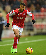 Jonson Clarke-Harris of Rotherham United in action during the Sky Bet Championship match at the New York Stadium, Rotherham<br /> Picture by Richard Land/Focus Images Ltd +44 7713 507003<br /> 28/11/2015