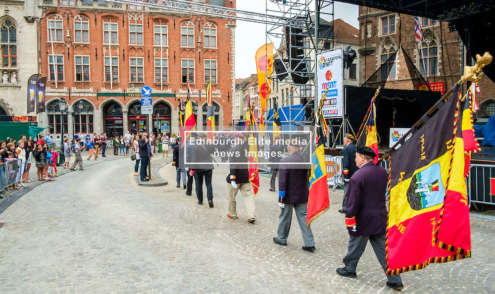 Bruges, Belgium - National Day - Veterans parade through the streets of Bruges<br /> <br /> (c) Andrew Wilson | Edinburgh Elite media