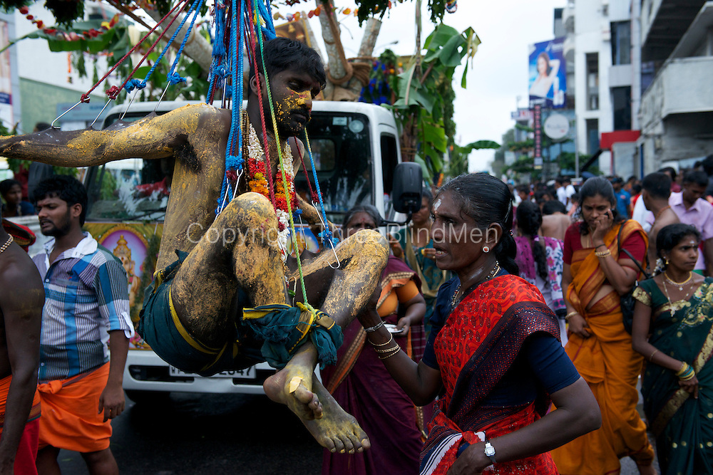 The Adi Vel festival on the streets of Colombo. <br />