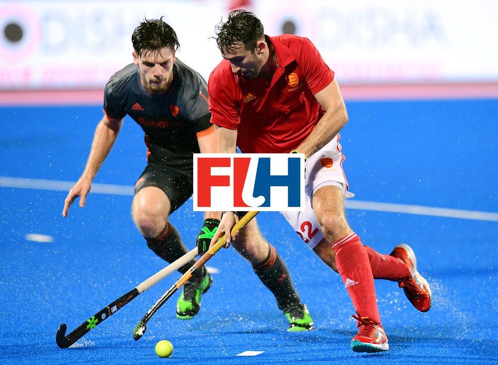 Odisha Men's Hockey World League Final Bhubaneswar 2017<br /> Match id:17<br /> England v Netherlands<br /> Foto: David Condon (Eng) <br /> COPYRIGHT WORLDSPORTPICS FRANK UIJLENBROEK