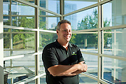 Kabbage CEO Rob Frohwein poses inside of the Atlanta, Georgia office September 12, 2011. Kabbage helps fund online businesses...Kendrick Brinson/LUCEO