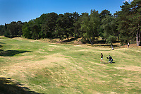 Bosch en Duin - Hole 18. Droogte op Golf Club de Pan. COPYRIGHT KOEN SUYK