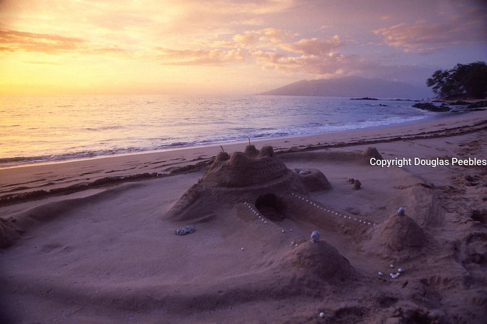 Sandcastle, Wailea Beach, Maui, Hawaii<br />