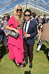 JAMIE CULLUM and KAREN CRAIG at the St.Regis International Polo Cup at Cowdray Park, Midhurst, West Sussex on 16th May 2015.