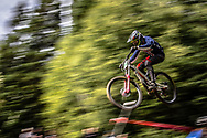 at 2019 UCI Mountain Bike Downhill World Championships in Mont-Sainte-Anne, Canada.