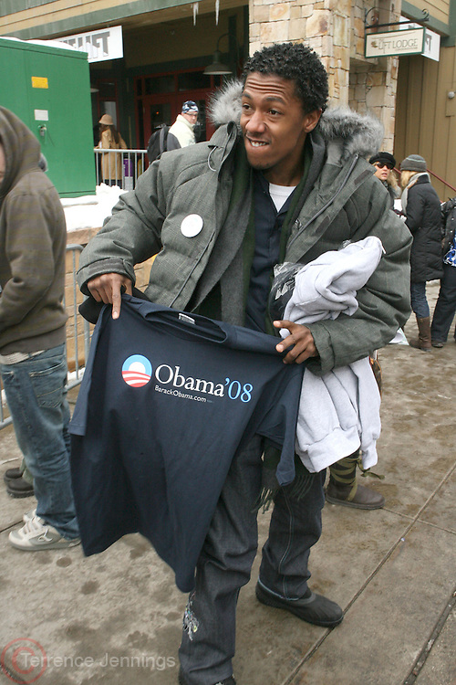 Nick Cannon at the 2008 Sundance Film Festival held in Park, City Utah.