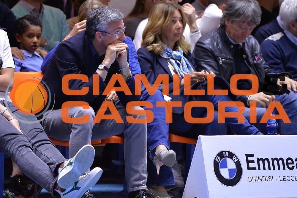 Marino Fernando<br /> Enel Brindisi - Consultinvest Pesaro<br /> BASKET Serie A 2016 <br /> Brindisi 09/04/2017<br /> FOTO CIAMILLO / M.Longo
