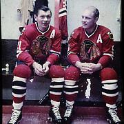 """Stanislav """"Stan"""" Mikita + Bobby Hull - Hockey"""