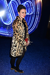 Gizzi Erskine at the Warner Music & Ciroc Brit Awards party, Freemasons Hall, 60 Great Queen Street, London England. 22 February 2017.