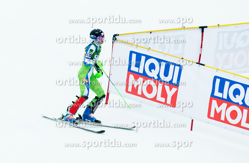 "Klara Livk (SLO) during 2nd Run of the FIS Alpine Ski World Cup 2017/18 7th Ladies' Slalom race named ""Golden Fox 2018"", on January 7, 2018 in Podkoren, Kranjska Gora, Slovenia. Photo by Ziga Zupan / Sportida"