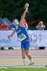 03/08/2017; Kacmarcik, Matej, F37, CRO at 2017 World Para Athletics Junior Championships, Nottwil, Switzerland