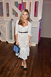 ZOE HARDMAN at a party to celebrate the new partnership of Maids to Measure with Touker Suleyman held in The Winter Marquee, Home House, 20 Portman Square, London on 2nd March 2016.
