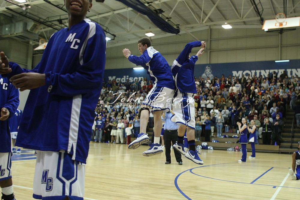 MCHS Varsity Boys Basketball .vs Strasburg.2/11/2009