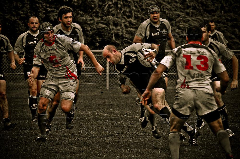 Rugby. <br /> CASE (St Etienne) VS Rc MAssy Essonne.<br /> Rcme winner.<br /> Le CASE de St Etienne rencontre le rc massy essonne &agrave; domicile.