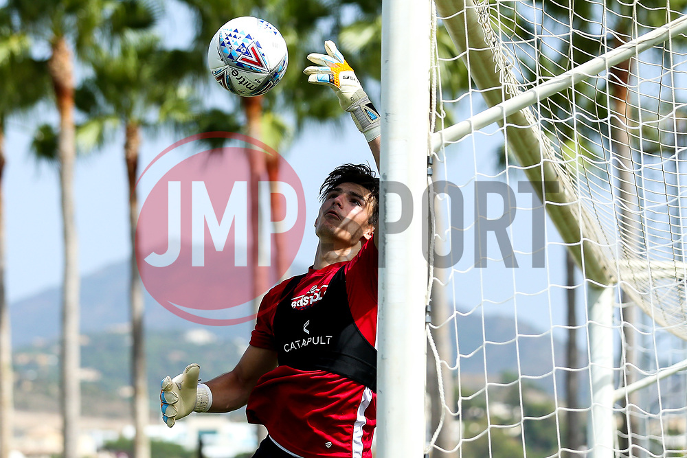 Max O'Leary of Bristol City takes part in a preseason training session in Marbella - Mandatory by-line: Robbie Stephenson/JMP - 19/07/2018 - FOOTBALL - Marbella Football Centre - Marbella, Malaga - Bristol City in Marbella