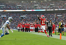Detroit Lions and Kansas City Chiefs.<br />
